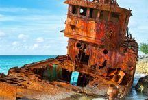 Shipwrecks and Buried Treasure