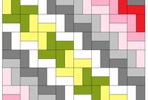 Squares/rectangles quilts