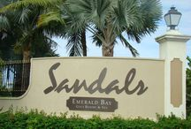 Visiting Sandals Emerald Bay / Just 40 minutes from South Florida the Exumas is a perfect choice for your honeymoon or vacation