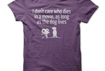 Dogs / Tee shirt designs featuring dogs