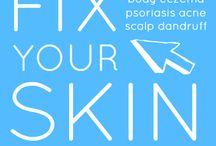 Treating ache / Healthy skin