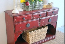 Ideas for Refinished Furniture / by Ashley Agee