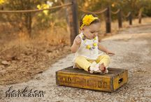 1 year old baby shoot ideas / by Trish Boyko