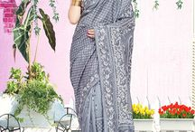 Shantiniketan Kantha Stitch Sarees CBC-1004