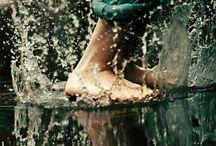 Les pieds dans l' eau...