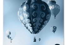 Fly away / Hot air balloons, airplanes, cars, bikes, transportation, ships etc.