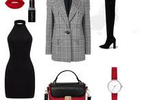 Basic wardrobe Dramatic Classic / Basic wardrobe for Dramatic Classic (Kibbe)  and cool summer