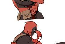 всё с Дэдпулом и Человеком-пауком