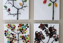autumn trees foe children