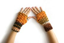 FINGERLESS GLOVES AND MITTENS
