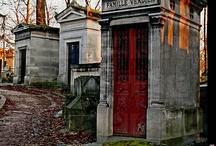 cemetery, mausoleum