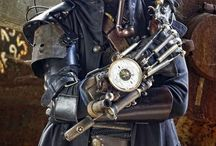 Male Steampunk References /  www.nealstrydom.co.za  #creaturedesign #monsters