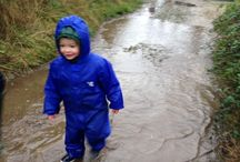 Perfect Puddle Splashes / Splashing and stomping in puddles is one of our all-time favourite outdoor activities - even in the summer, wellies are essential. Take a look at some our perfect puddle shots.  Who doesn't love a puddle splash?