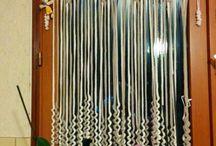 Crochet windows curtains