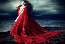 LADY in Red / art and fashion... / by Glorianne Roccanova