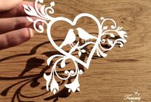 Papercuts / Templates and designs