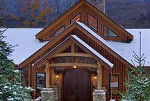 Cabins and all things rustic / by Joyce Kimball