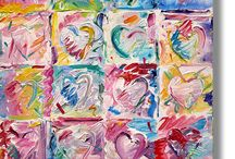 My Heart Paintings / My Heart Paintings created in the early 1990s
