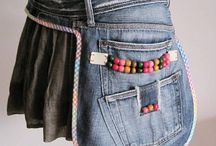 Taschen aus Jeans