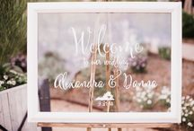 WEDDINGS / DIY Wedding Decor