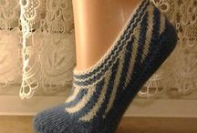Sokker/Tøfler (strikk)