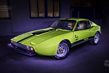 Saab Sonett III / Design and green/black wrap - 2014.