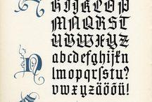 Handletteren en kaligrafie