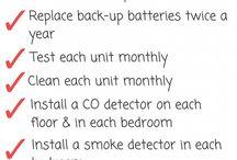 Smoke & CO Detectors