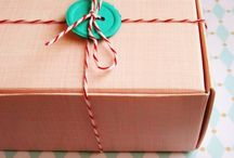 Gift wrapping / by Melissa Head