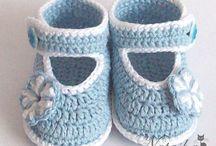 Horgolt cipő-mamusz-papucs-zokni