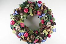 Wreaths - Knit/Crochet