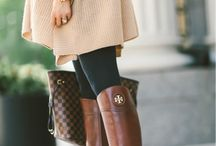 camel boots outfit winter
