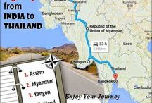 Let's drive to Thailand from India..!!!