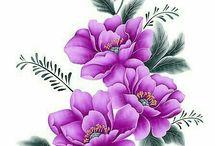 kwiaty kolorowe