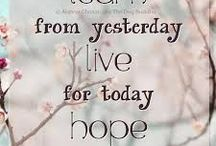 Inspirational Quotes ~ / Inspirational Quotes ~ Words to Live By ~ Positive Thinking ~