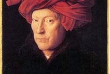 Jan van Eyck / Peintre primitif flamand (né vers 1390 - 9 juillet 1441), Il est célèbre pour ses portraits d'un réalisme minutieux. http://fr.wikipedia.org/wiki/Jan_van_Eyck