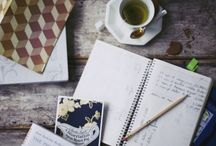 Coffee, Tea, Notebooks..