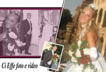 Foto Matrimonio / Alcuni esempi di foto matrimoniali realizzati dalla Ci Effe foto&video sas