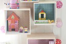 D E C O - chambre enfant / Idées de décoration pour les chambres d'enfants