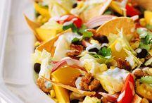 salads / by Angela Stewart