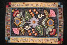 rug hooking / by Elaine Baran