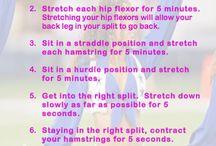 HOW TO: SPLIT / Yoga
