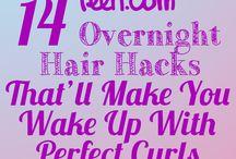 Come fare i capelli ricci/lisci
