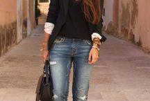 Porter le jean's