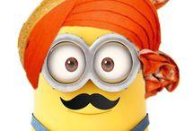Bollywood minion
