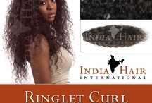 Indian Ringlet Curl / RSD Steam Permed Ringlet Curl, Machine Weft 100% Human Hair.