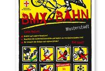 Skate- und BMX-Anlage Schilder / Bei der Beschilderung von Skateanlagen, BMX-Bahnen und Dirtbahnen sind zahlreiche Punkte zu beherzigen wie z.B. allgemeine Verhaltensregeln für die Nutzer und sicherheitsrelevante Informationen, die gut lesbar jederzeit eingesehen werden können.