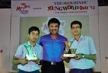 The Hindu, Young World Quiz 2012 Winners in Madurai / Mr Sarath Kumar awarded and encouraged winners on Young World Quiz 2012 conducted by The Hindu