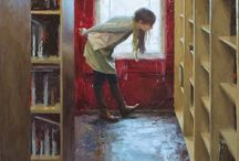 Books and shelves / Boeken en boekenplanken maken het leven heel prettig.
