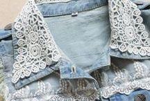 Customização de jeans e outras peças